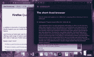 Three open browser windows, without any tab bars.